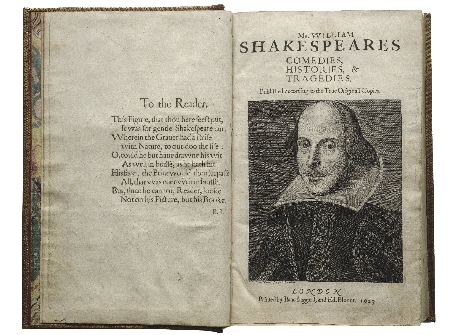 The First Folio of William Shakespeare
