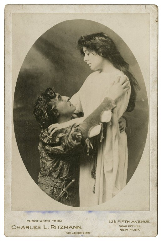 E.H. Sothern and Julia Marlowe as Romeo and Juliet