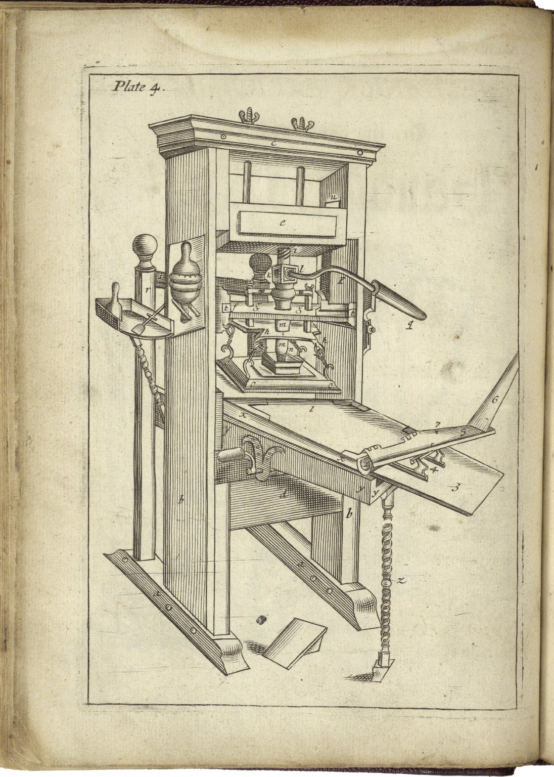 Image of a printing press.