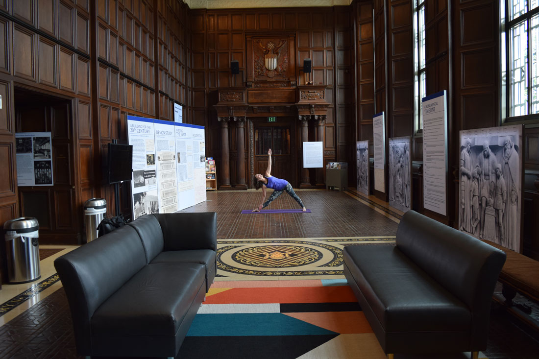 Great Hall yoga