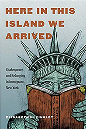 Book cover of Here in this Island We Arrived, by Elisabeth Kinsley