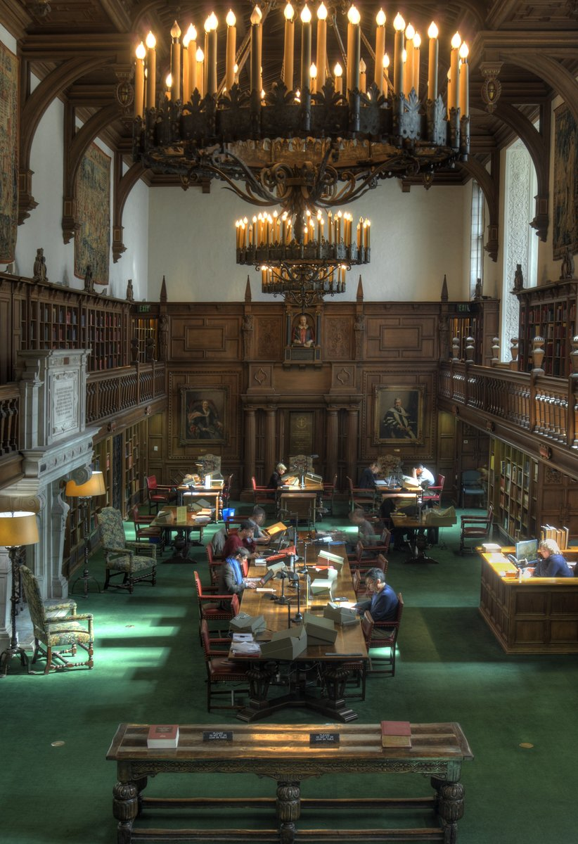 Paster Reading Room at the Folger Shakespeare Library