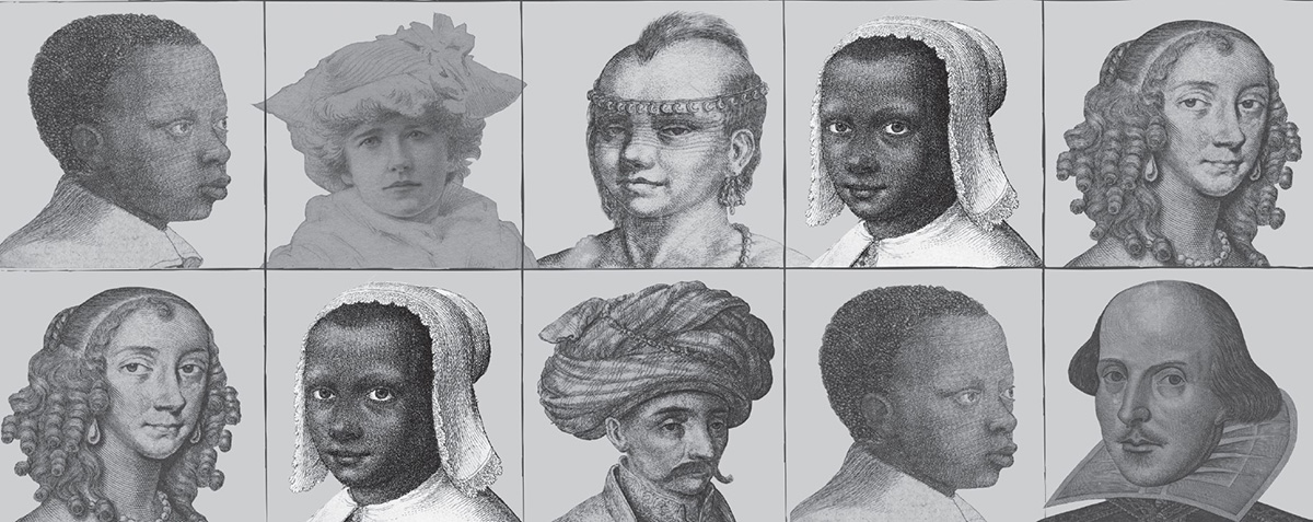 portraits of people of different races in the early modern world