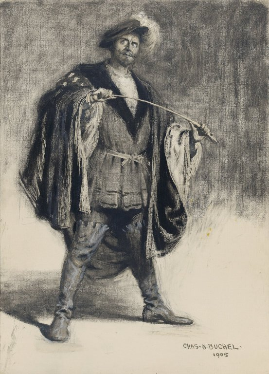 Herbert Beerbohm Tree as Benedict (1905)