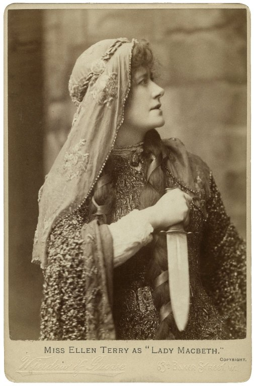 Ellen Terry as Lady Macbeth (late 19th century)
