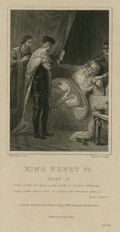 the Cardinal's death (act 3, scene 3; 1814)
