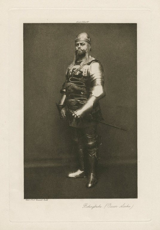Oscar Ashe as Bolingbroke (late 19th or early 20th century)