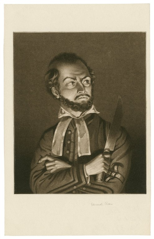 Edmund Kean as Shylock (early 19th century)