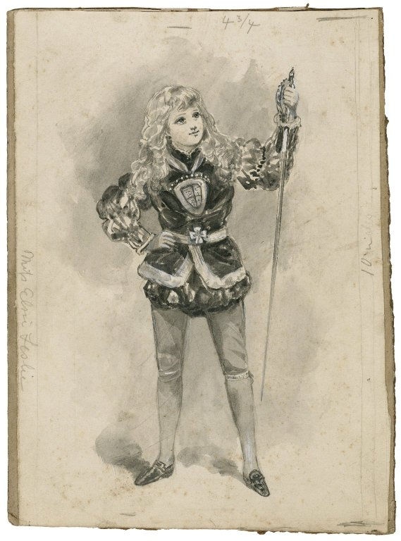 Elsie Leslie as Prince Arthur (19th century)