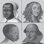 Composite of images from the Folger Shakespeare Library Collections