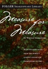 cover of the Folger edition of Measure for Measure