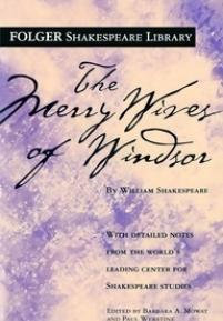cover of the Folger edition of The Merry Wives of Windsor