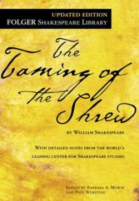 cover of the Folger edition of The Taming of the Shrew